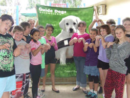 Generous Oakey SS community raises money for guide dogs